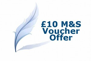 £10 voucher from Marks & Spencer